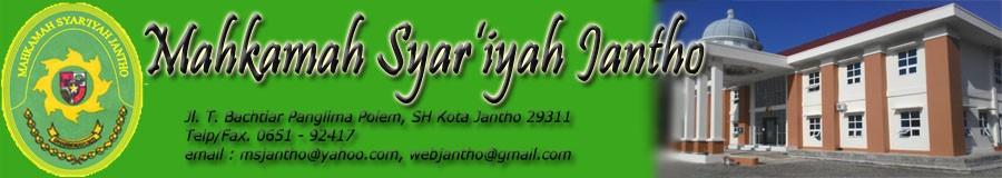Mahkamah Syar'iyah Jantho