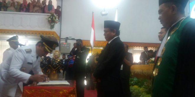 Ketua MS Jantho Menghadiri Pelantikan Bupati Aceh Besar