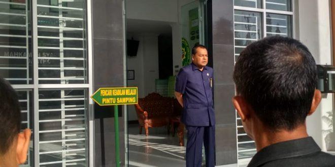 Mahkamah Syar'iyah Jantho Kembali Melaksanakan Apel Pagi