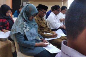 kasubbag umum dan keuangan dan juga bendahara  mahkamah syar'iyah jantho mengikuti acarasosialisasi langkah-langkah strategis pelaksanaan anggaran tahun 2020 di KPPN Banda Aceh.