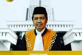 HAKIM AGUNG YM. Dr. H. MUHAMMAD SYARIFUDDIN, SH., MH. JADI KETUA MAHKAMAH AGUNG RI KE 14″