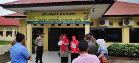 MS Jantho Melaksanakan Decente Di Krueng Barona Jaya